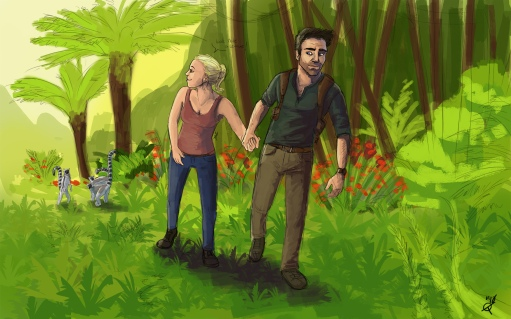 Nate & Elena from the game series Uncharted